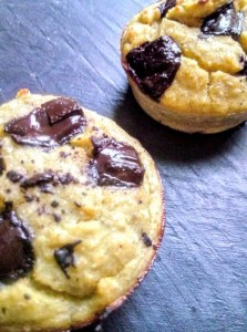 recette des muffins sans sucre ajouté banane chocolat