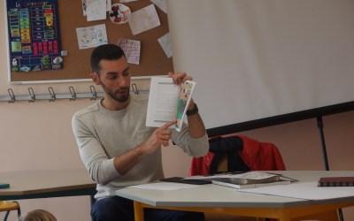 Compte rendu de la lecture au centre du Mesnil-Esnard