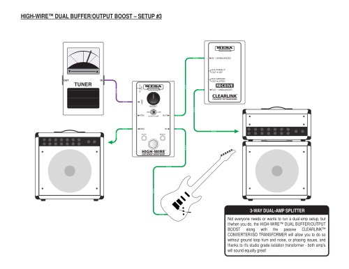 small resolution of mesa boogie high wire dual buffer and line driver mesa boogie taotao ata 125 wiring diagram line driver wiring diagram