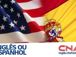 CURSO DE INGLES OU ESPANHOL – CNA