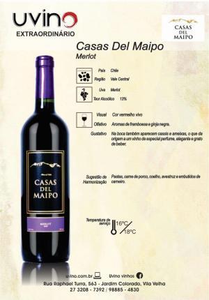 Casas Del Maipo Merlot