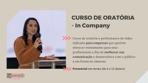 CURSO DE ORATORIA PRESENCIAL – PARA GRUPOS