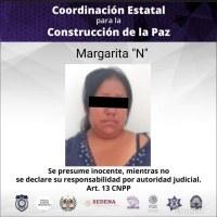 Detienen a mujer por lesiones y amenazas de muerte en Yautepec