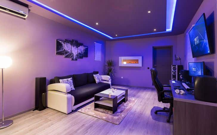 Decoracion Para Habitacion Gamer  Shelly Lighting