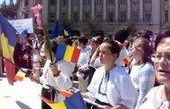 """Români din Covasna și Harghita, la București:  """"Suntem legați în același destin românesc cu voi toți, legați prin jertfa comună a înaintașilor noștri..."""""""