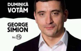 """Independentul George Simion: """"Mă gândesc la ce pot face eu pentru Țară, nu la ce poate face Țara pentru mine"""