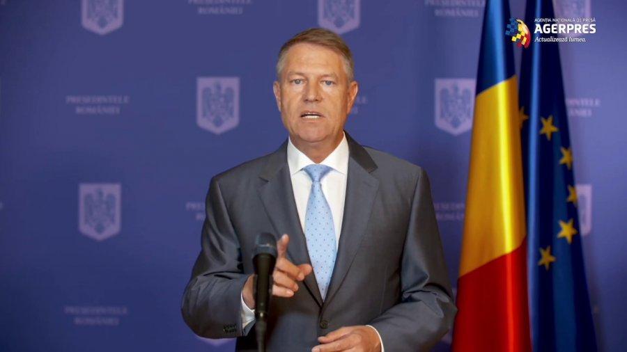 Video Iohannis: voi solicita premierului și ministrului de nterne să revină asupra acordului MAI-BOR