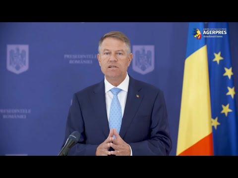 VIDEO Iohannis: Suntem de părere că se impune prelungirea stării de alertă