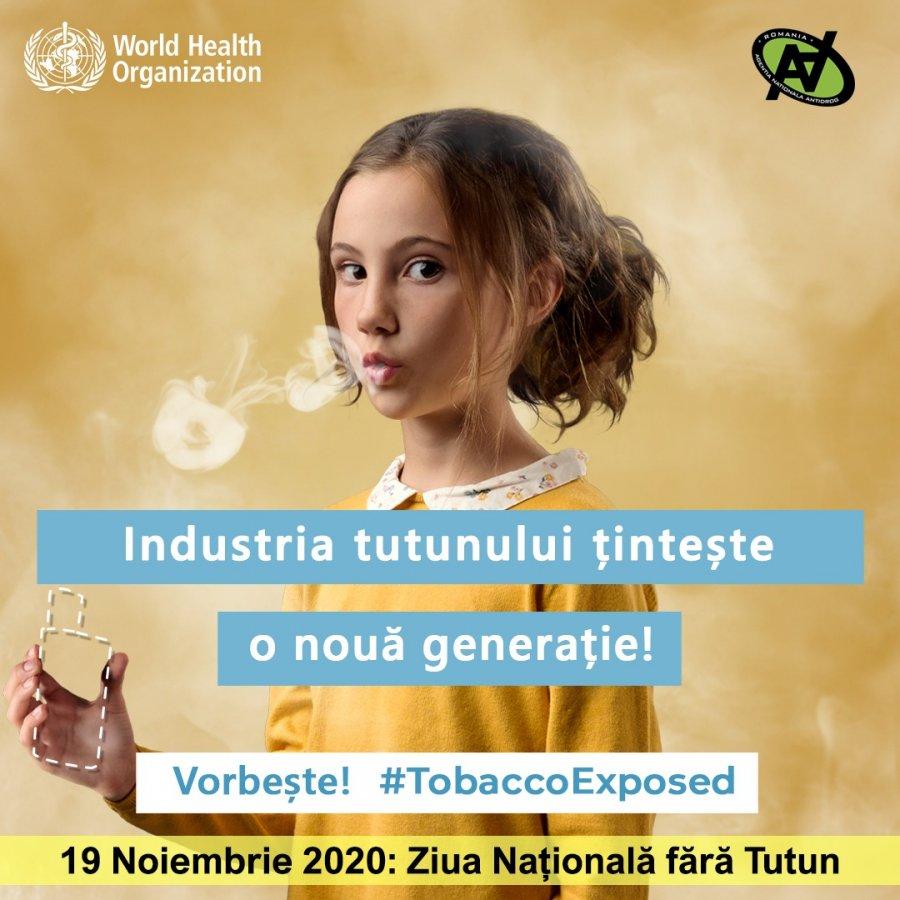 Ziua naţională fără tutun, astăzi