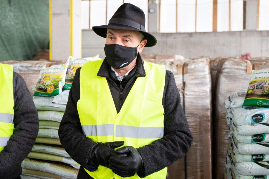 Peste o mie de tone de compost, vândute în 2020 de Centrul de management integrat de la Leţ
