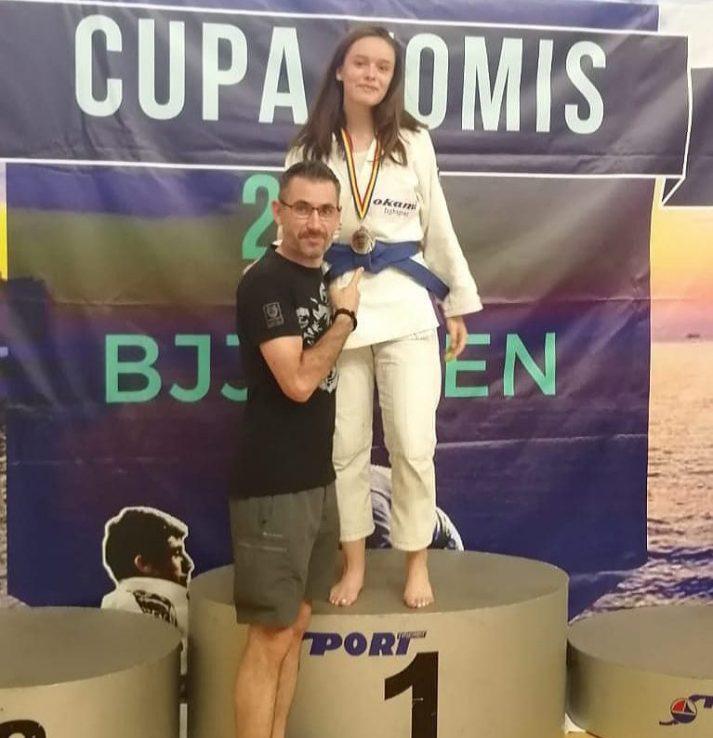 Narcisa Nicoleta Florescu, campioană la Brazilian Jiu-Jitsu