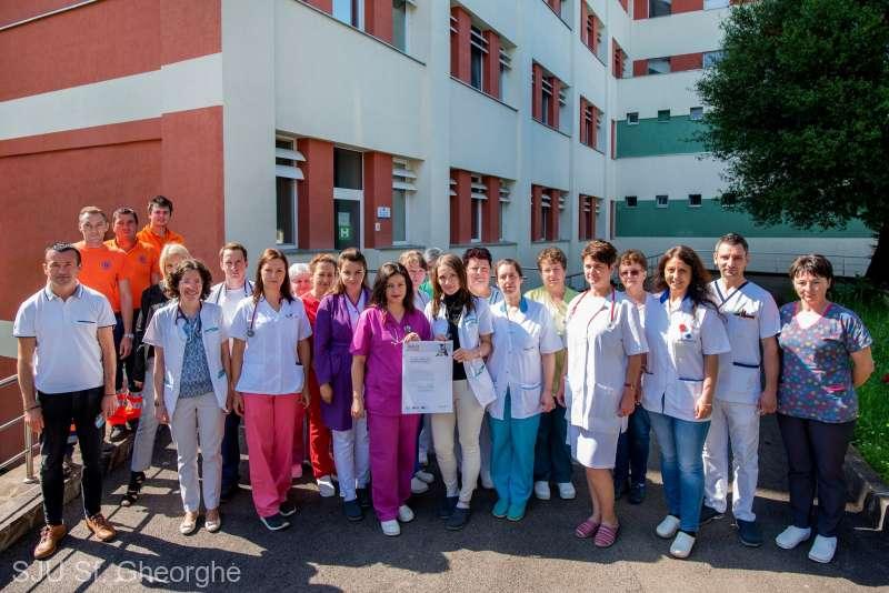 Spitalul Judeţean, premiat pentru rapiditatea şi calitatea îngrijirii pacienţilor cu accidente vasculare cerebrale