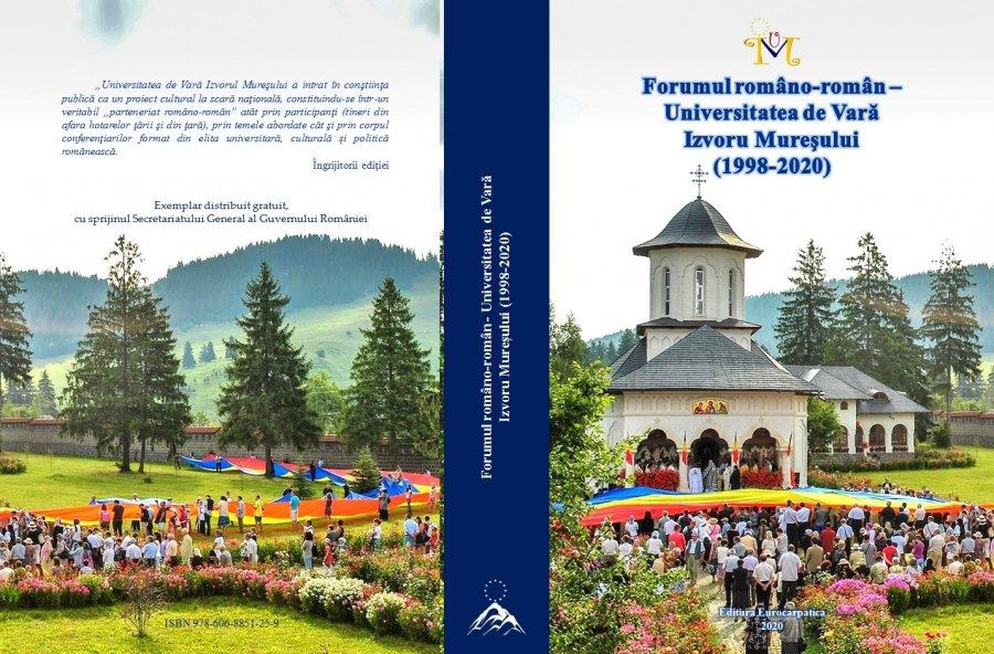 Participarea reprezentanţilor românilor din comunităţile istorice, din jurul graniţelor, la Universitatea de Vară de la Izvoru Mureşului (2000 -2020)-(V)