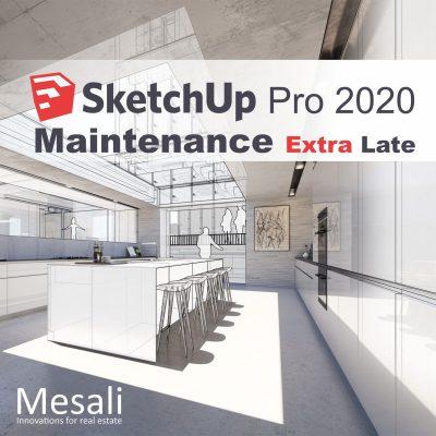 SketchUp maintenance extra late