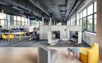 De digitale transformatie in commerciële interieurs