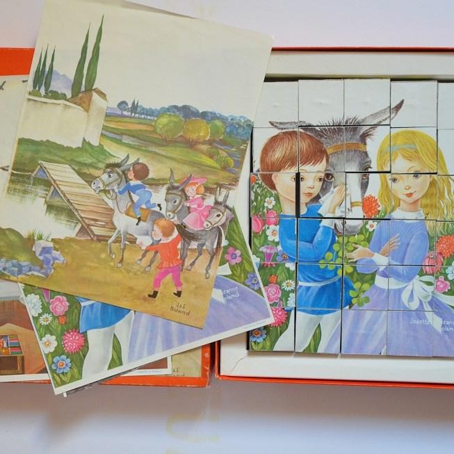 magnifique cube puzzle de J&S Boland
