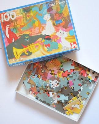 """puzzle """"la danse des aristochats"""""""