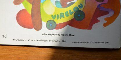 Livre de lecture pour enfant. Lis Tout, l'exploit de virelou édition Magnard. Gamme 2, niveau 5, progression Lilas. 1976