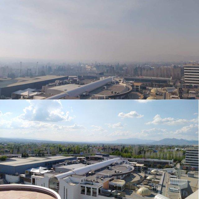 Calidad del aire y mortalidad por #COVID19