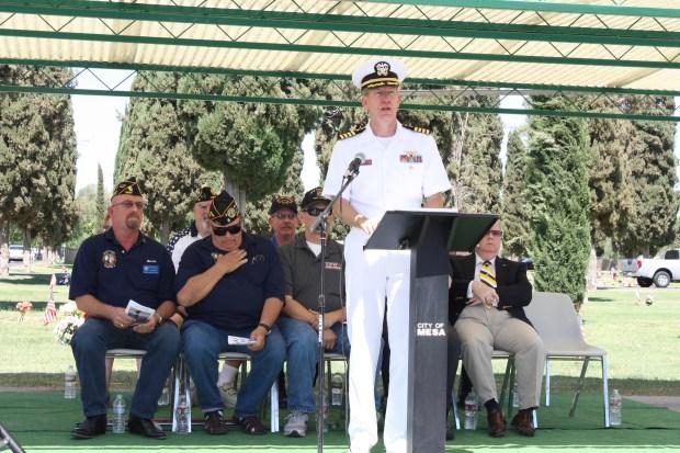 Captain Steve Borden USN
