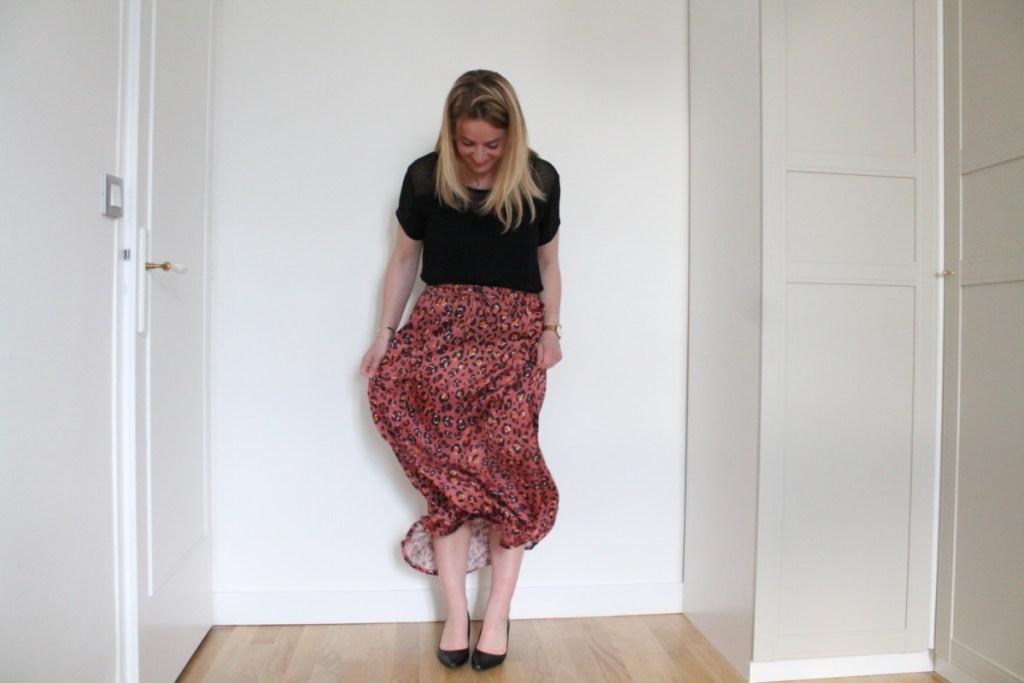 coudre une jupe longue