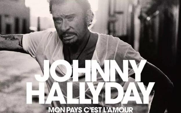 Johnny Hallyday Mon Pays, c'est l'amour