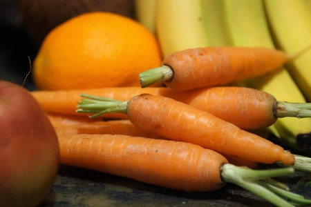 fruits et légumes en mars
