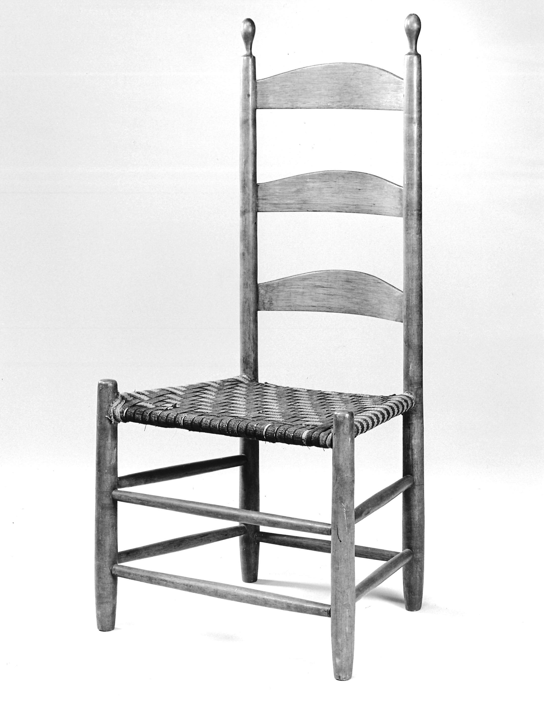 shaker ladder back chair bedroom tufted mesda shares