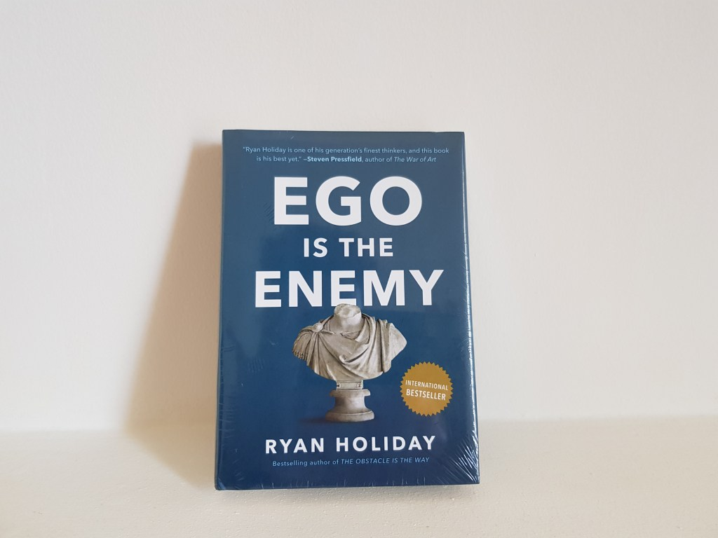 revue livre ego is the enemy