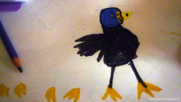dessin-canard-fille-5-ans