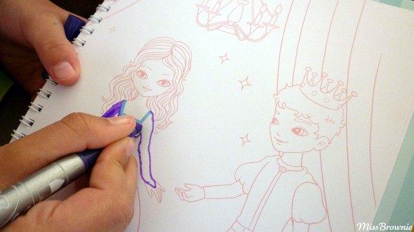 dessiner-princesse