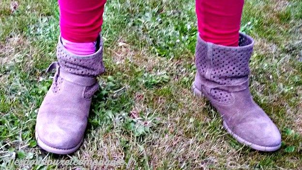 low boots ajourées vertbaudet