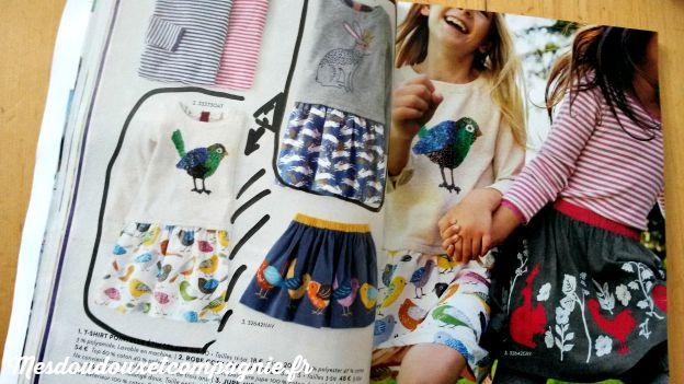 mini boden robe et jupe oiseaux