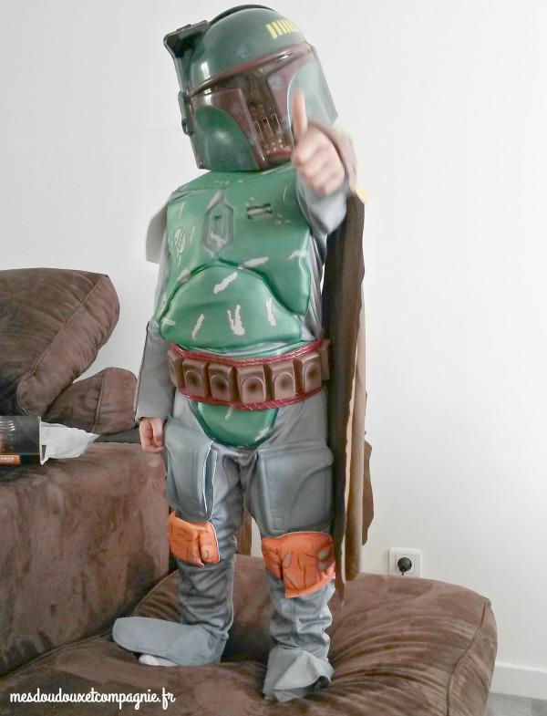 STAR WARS déguisement boba fett