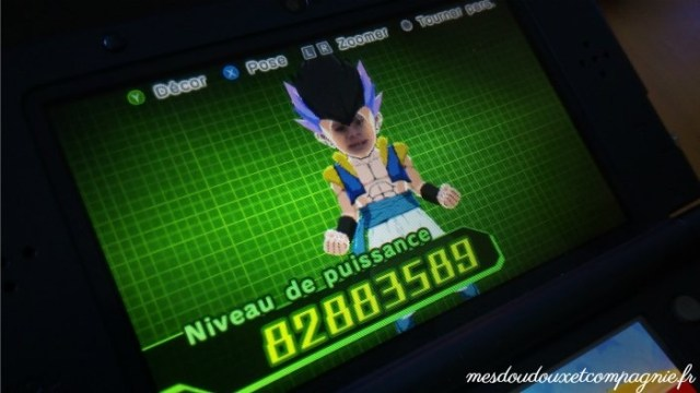 FUSION DRAGON BALL 3DS