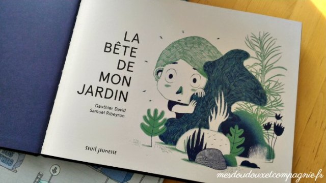 album jeunesse monstre jardin