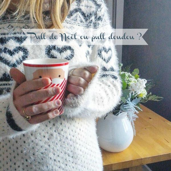 Pull de Noël, pull doudou ou pull pour l'hiver ?