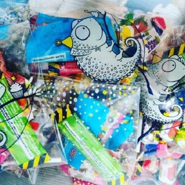 Les petits sacs de bonbons