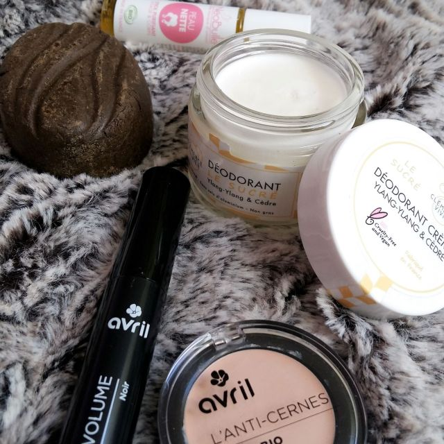 Unboxing cosmétiques solides bio