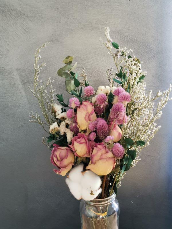 bouquet fleurs séchées aliexpress