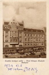 Budapest - Erzsébet királyné szálló - 1929
