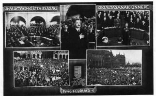 Budapest - Parlament, Kossuth-tér - 1946