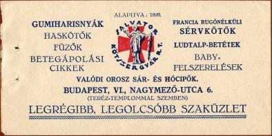 EP - Budapest - Salvator szaküzlet