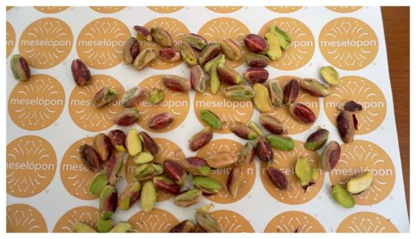 Aegina Pistachios Nuts Raw Unsalted Without Shell, Zoom