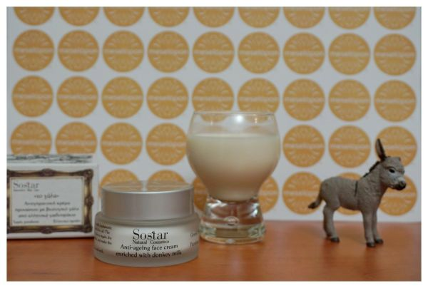 Women Soothing Anti-aging Wrinkle Day Cream For Face & Neck Enriched With Bio Donkey Milk 50ml For All Skin Types
