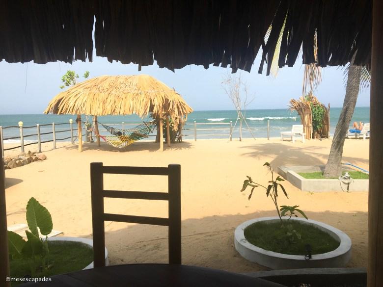 Où manger à la plage à Arugam Bay ?