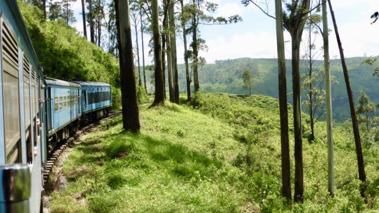 L'un des trajets en train les plus connus au monde se trouve au Sri Lanka. Il s'agit du trajet Ella - Kandy.