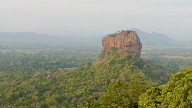 Sigiriya, depuis le rocher Pidurangala