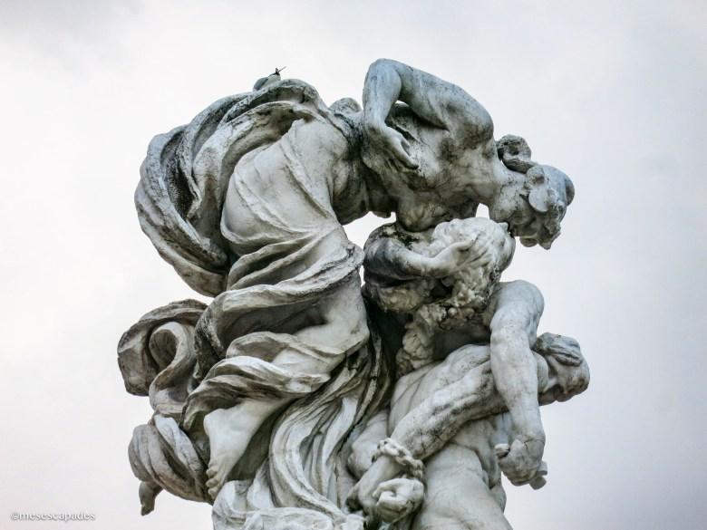 Les sculptures de Rome
