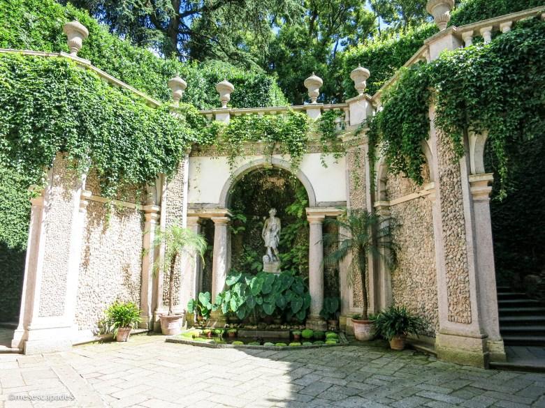 Les jardins de l'Isola Bella